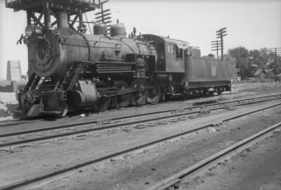 2013.010.FWD.S.0306--bill kuba 6x9 neg--FW&D--steam locomotive 2-8-0 306--Wichita Falls TX--no date
