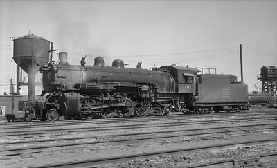 2013.010.FWD.S.0409--bill kuba 116 neg--FW&D--steam locomotive 2-8-2 409--Wichita Falls TX--1955 0105
