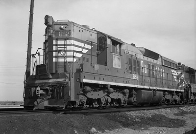 2013.010.FWD.D.0852--bill kuba 6x9 neg--FW&D--EMD diesel locomotive 852--Fort Worth TX--1974 0318