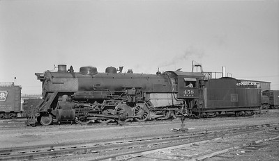 2013.010.FWD.S.0458--bill kuba 116 neg--FW&D--steam locomotive 2-8-2 458--Fort Worth TX--1956 1125