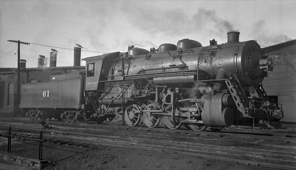 2013.010.CMO.S.0061--bill kuba 116 neg--CStPM&O--steam locomotive 0-8-0 M-5 61--St Paul MN--1939 0129