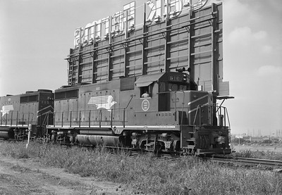 2013.010.TP.D.0610--bill kuba 6x9 neg--T&P--EMD diesel locomotive 610--Dallas TX--1969 1020