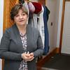 Kim Trembley a nurse with Commonweath Care Alliance talks about their home visits. SUN/JOHN LOVE