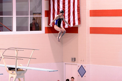 William Jewell does not have a diving team, but this was also a diving meet.