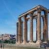 Temple of the Olympian Zeus, Athens, Greece.