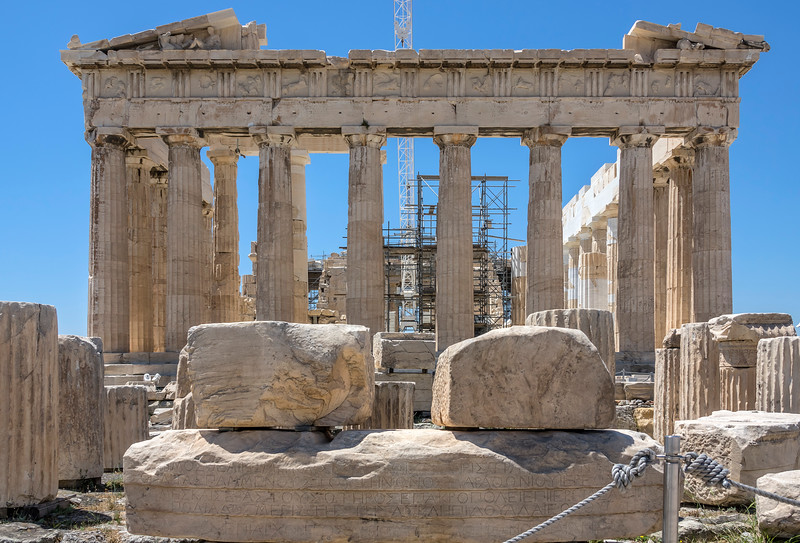 Parthenon in Athens, Greece.