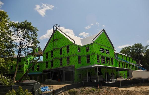 Williams Inn under construction