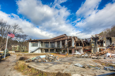 Williams Lake, Main Building, Partially Demolished