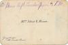 1895 Mrs Alfred Tipping Mason (Teresa Lodwick Mason was a widow) card