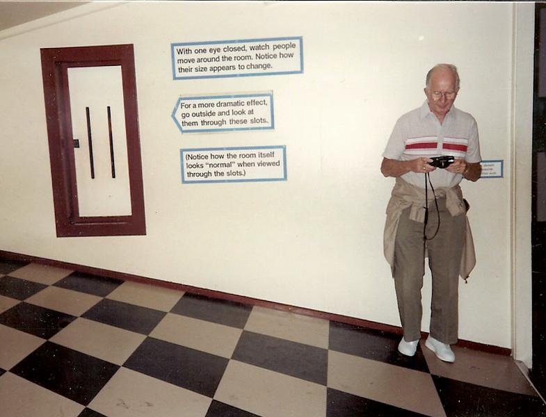 1989 Jack Schofield sloped floor