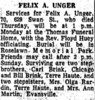 1972 Felix Unger Obit The_Terre_Haute_Star_Sat__Jan_29__1972_