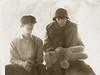 1965 Von & Scott with stabbed teddy bear p81