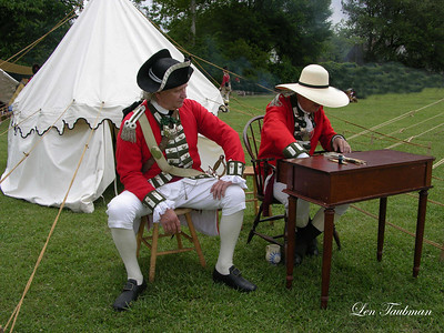 Redcoat Officers