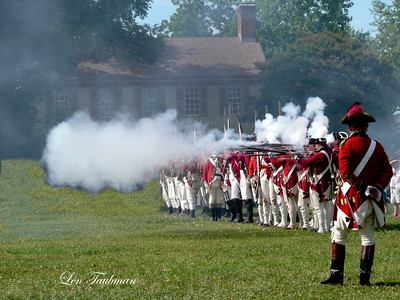 Redcoats Firing