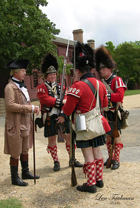 Squire and Redcoats