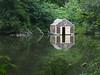 Creepy looking boathouse - what lies beneath?