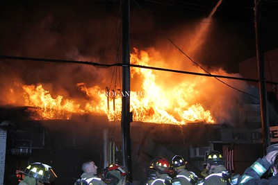 Willis Ave Building Fire 7/24/14