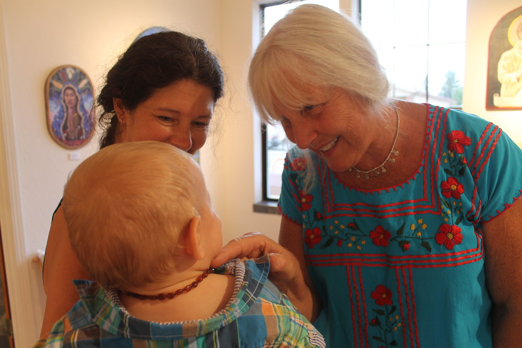 . Art lovers from the very young to adult at the Willits Center for the Arts opening Friday.