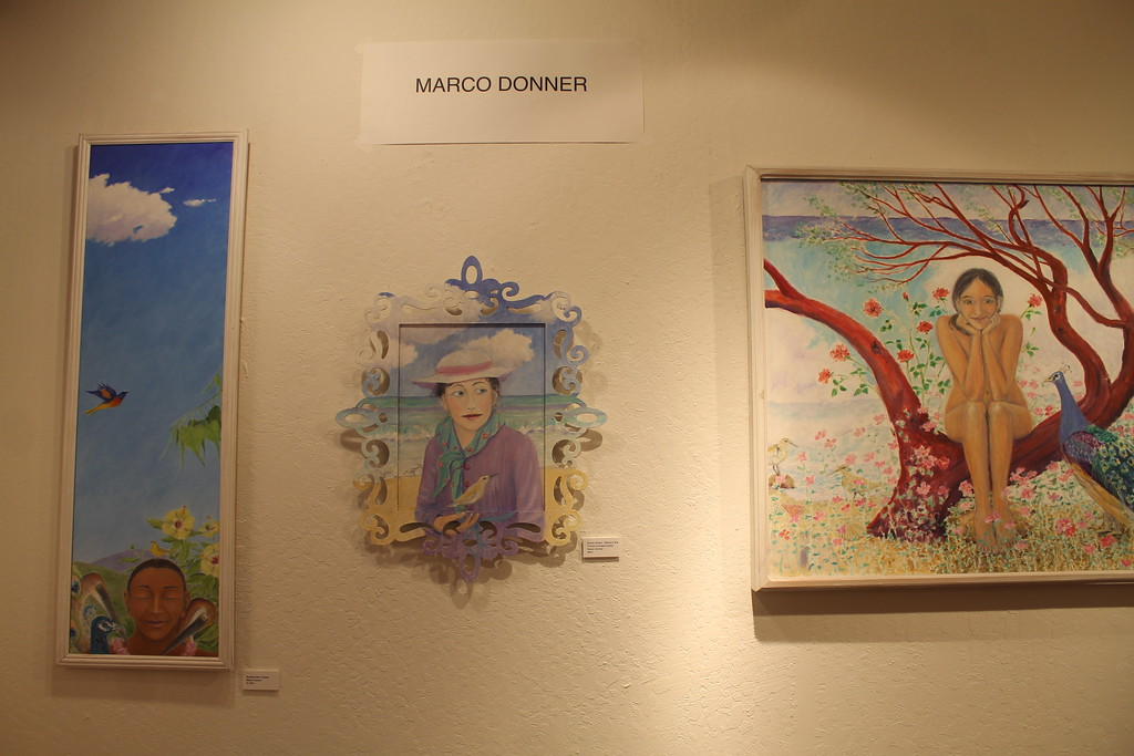 . Gallery opening Friday Aug. 4. featuring artwork by Marco Donner.