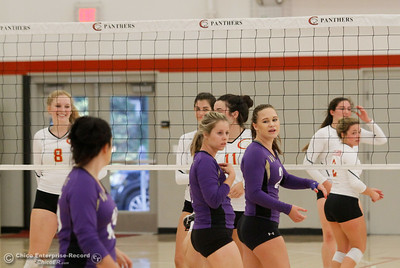 Willows at Chico High School volleyball September 19, 2016 Chico, Calif. (Emily Bertolino -- Enterprise-Record)