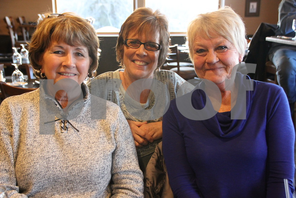 Friday, February 19, 2016, Willow Ridge in Fort Dodge, held a Culinary Dinner. Pictured is: (left to right) Paulette Carlson, Kathleen Johnson, Rose Mallison as they enjoy dining out at the event.