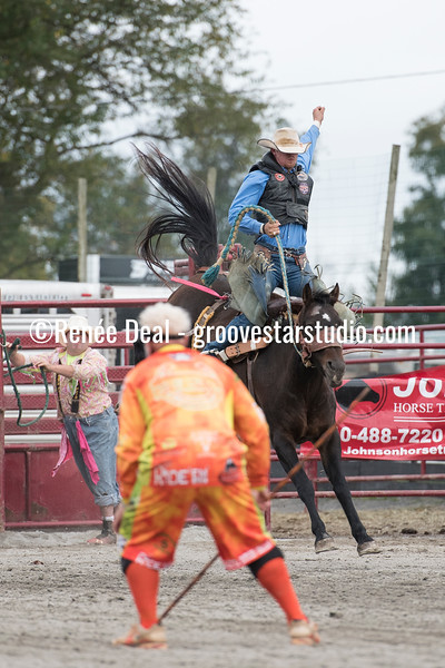 DSC_4765- Willowdale Pro Rodeo- Saddle Bronc Riding- Will Stites- 1st pl 68pts