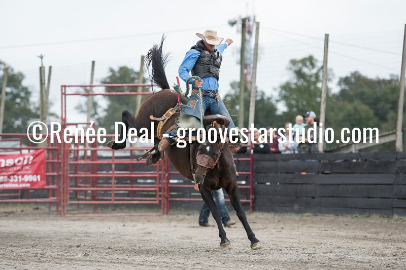 DSC_4768- Willowdale Pro Rodeo- Saddle Bronc Riding- Will Stites- 1st pl 68pts
