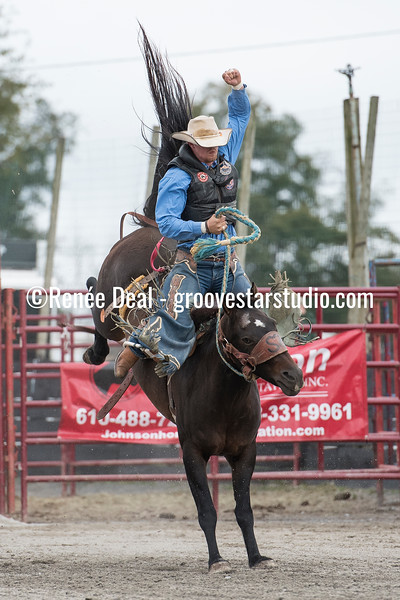 DSC_4766- Willowdale Pro Rodeo- Saddle Bronc Riding- Will Stites- 1st pl 68pts