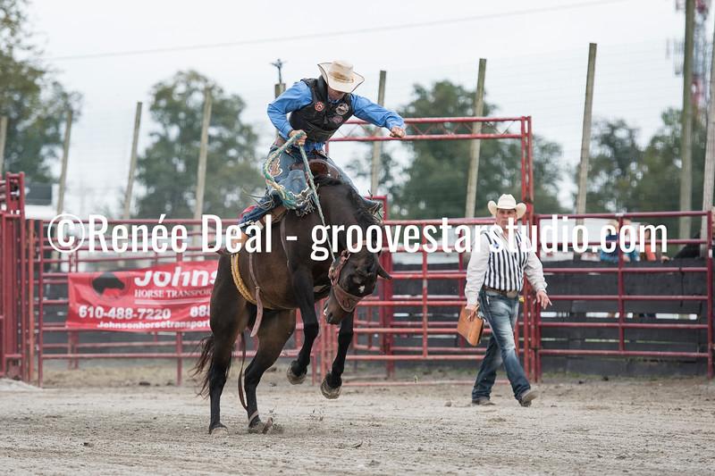 DSC_4767- Willowdale Pro Rodeo- Saddle Bronc Riding- Will Stites- 1st pl 68pts