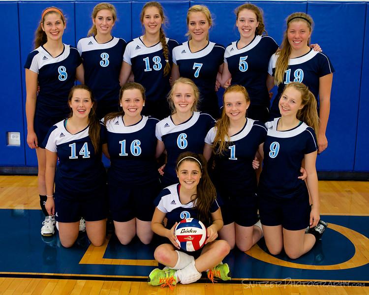 Willows academy  HS Volleyball 9-2014 4.jpg