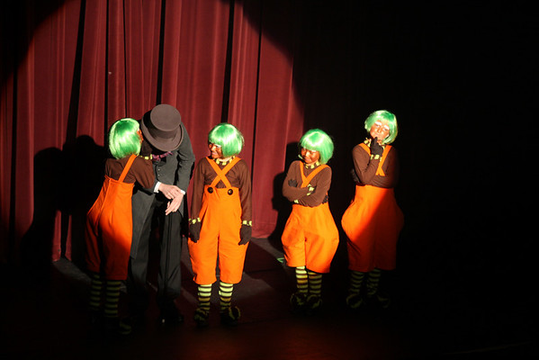 Will and the 4 Oompa Lumpas