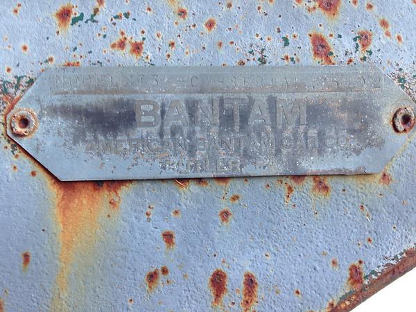 Model T-3 Bantam Serial #25492.