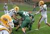 (20) Tyler Webb, (46) Zak Werner, (21) Taylor Clark - September 23, 2006 - Baldwin-Wallace Yellow Jackets at Wilmington Quakers