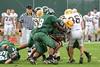 (54) John Rupp, (8) Conley Smoot - September 23, 2006 - Baldwin-Wallace Yellow Jackets at Wilmington Quakers