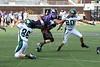 (86) Jared Ball (20) Tyler Webb - September 16, 2006 - Wilmington Quakers at Capital Crusaders