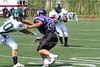 (80) Brandon Hiatt (4) Jermaine Isaac - September 16, 2006 - Wilmington Quakers at Capital Crusaders