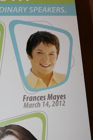 March 14 - Frances Mayes      photos by dorey nomiyama photography dahzee@aol.com