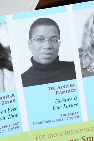 Dr. Ainissa Ramirez  February 2015