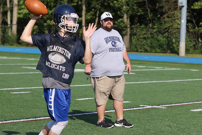 Wilmington High Schools Football Practice 8 21 17 Mng Low