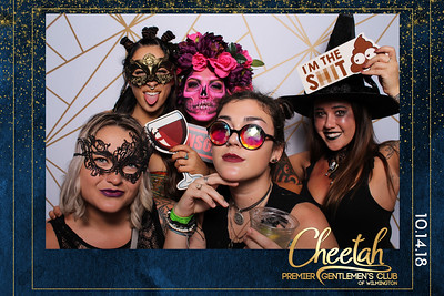 Wilmington's 2018 Bartender's Monster Ball (Photo Booth Sponsored by Cheetah's)