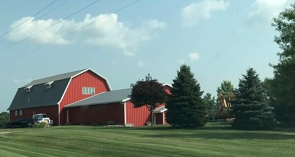 I love the farm scenes of middle America.