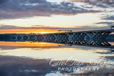 Wilson Bridge at Dawn