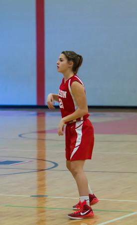 Wilson Freasman Girls vs Reading Basketball 2-1-16