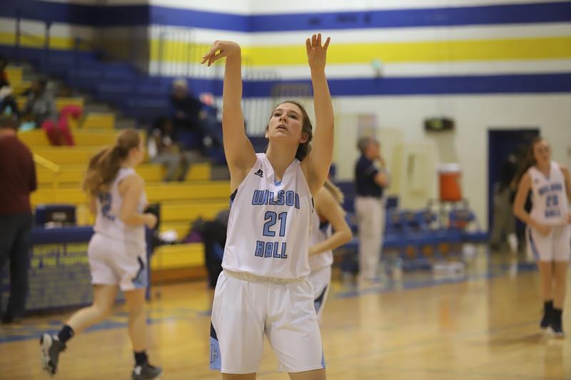 Wilson Hall vs. Socastee Girls Basketball 11/23/19