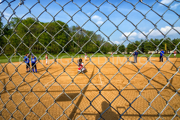 Wilson Middle school Softball vs Exeter 5-12-16