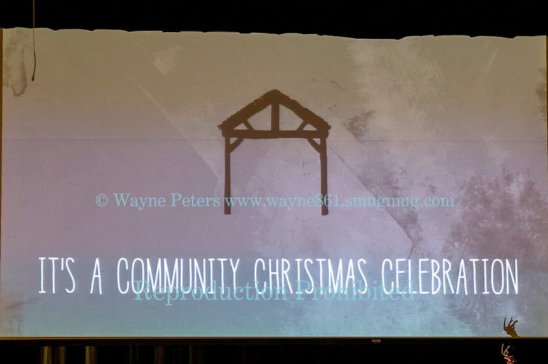 A Community Christmas in Wilson, NY, December 23, 2012.