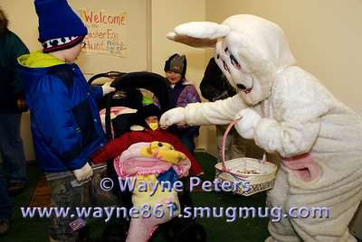 A greeting from the Easter Bunny!