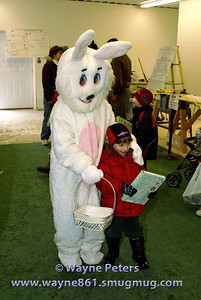 A photo with the Easter Bunny!