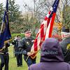Veterans Day Service in Greenwood Cemetery, Wilson, N.Y.