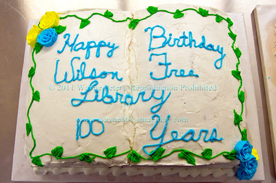 Wilson Free Library 100 Year Birthday Bash
